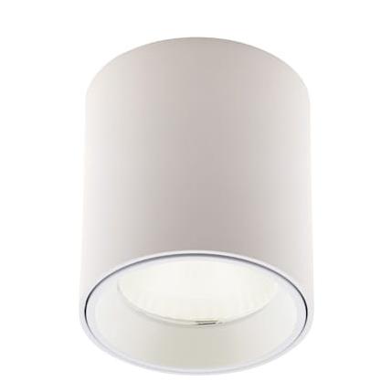 Spot LED aplicat design minimalist TUB alb C0155 MX + RC0155/0156 WHITE, Spoturi LED incastrate, aplicate, Corpuri de iluminat, lustre, aplice, veioze, lampadare, plafoniere. Mobilier si decoratiuni, oglinzi, scaune, fotolii. Oferte speciale iluminat interior si exterior. Livram in toata tara.  a