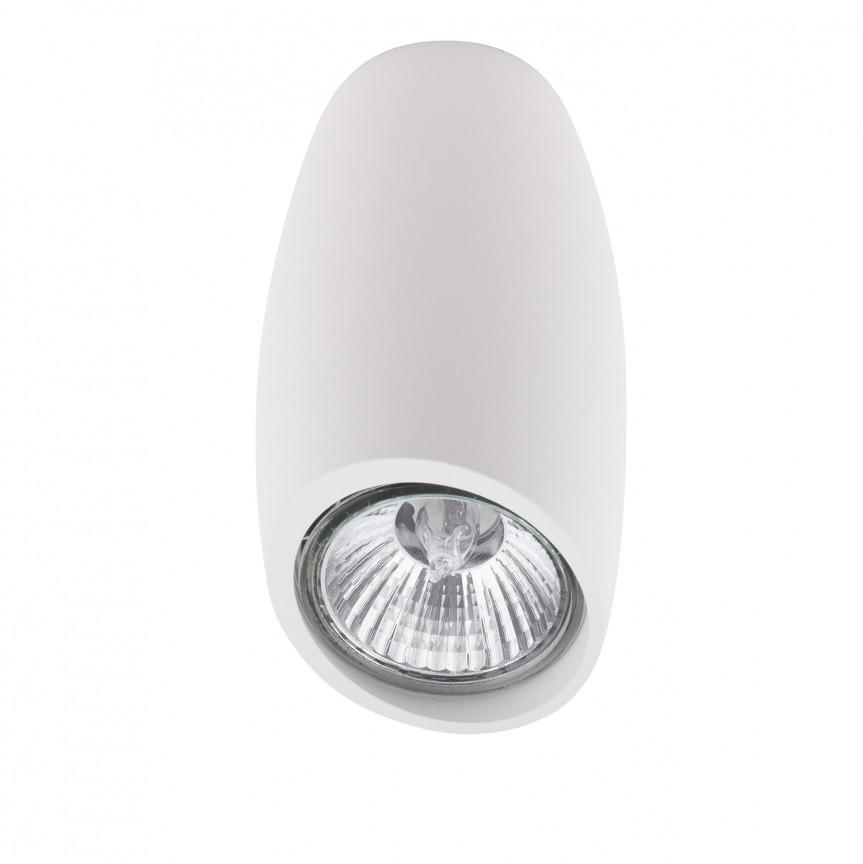 Spot aplicat design minimalist LOVE alb C0158 MX, Spoturi aplicate - tavan / perete, Corpuri de iluminat, lustre, aplice, veioze, lampadare, plafoniere. Mobilier si decoratiuni, oglinzi, scaune, fotolii. Oferte speciale iluminat interior si exterior. Livram in toata tara.  a