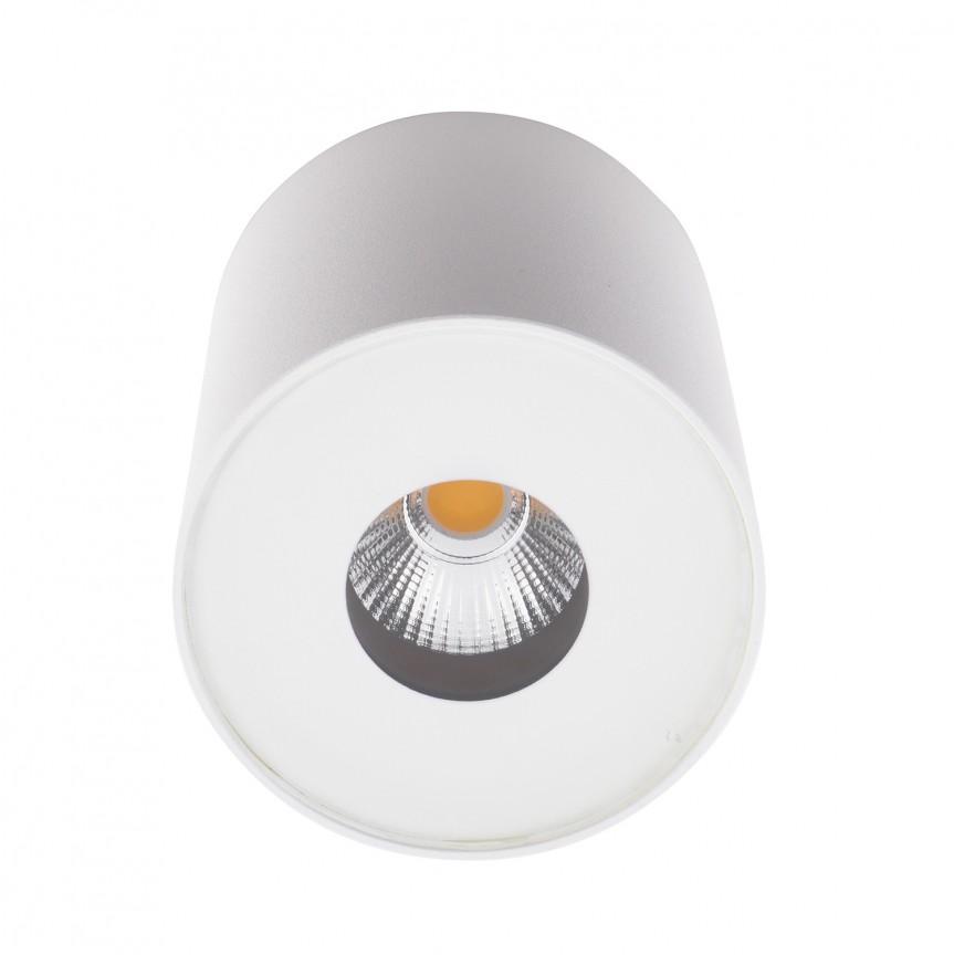 Spot LED aplicat pentru baie design minimalist IP54 PLAZMA alb C0152 MX , ILUMINAT EXTERIOR, Corpuri de iluminat, lustre, aplice, veioze, lampadare, plafoniere. Mobilier si decoratiuni, oglinzi, scaune, fotolii. Oferte speciale iluminat interior si exterior. Livram in toata tara.  a