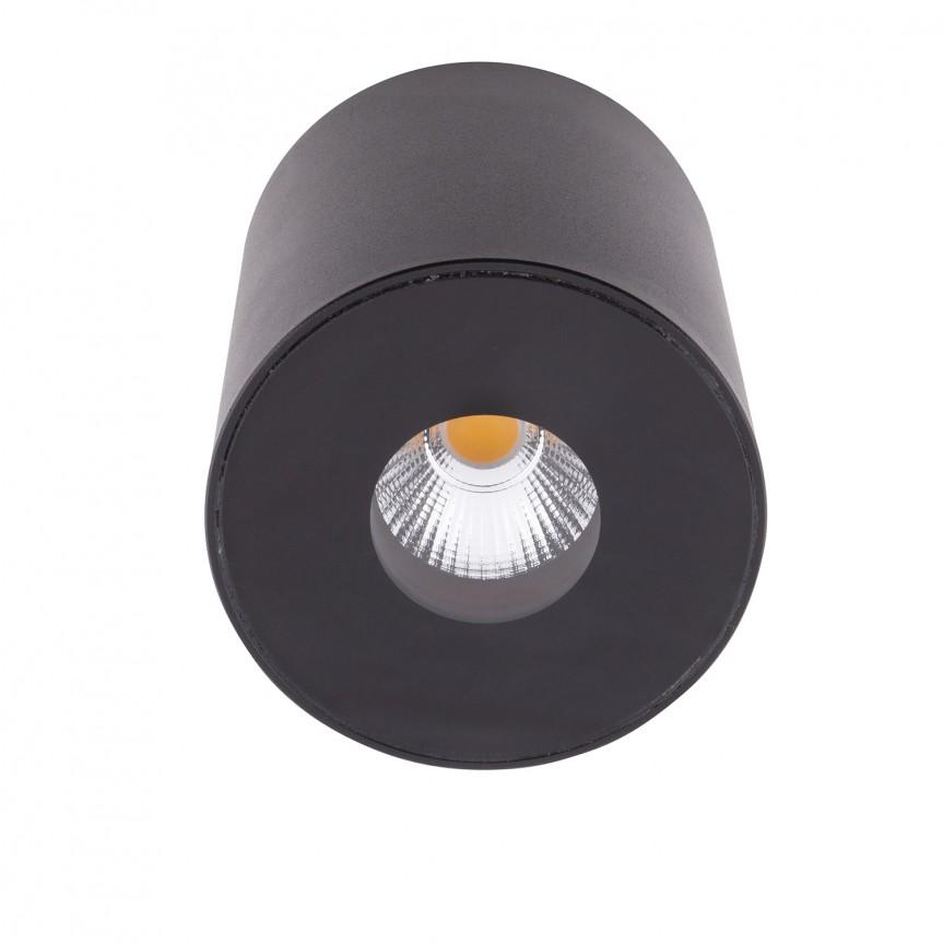 Spot LED aplicat pentru baie design minimalist IP54 PLAZMA negru C0151 MX , Spoturi aplicate - tavan / perete, Corpuri de iluminat, lustre, aplice, veioze, lampadare, plafoniere. Mobilier si decoratiuni, oglinzi, scaune, fotolii. Oferte speciale iluminat interior si exterior. Livram in toata tara.  a