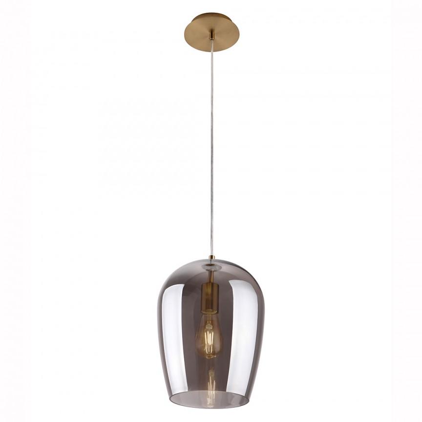 Lustra suspendata / Pendul design modern Zimba Smoky P0301 MX, PROMOTII,  a