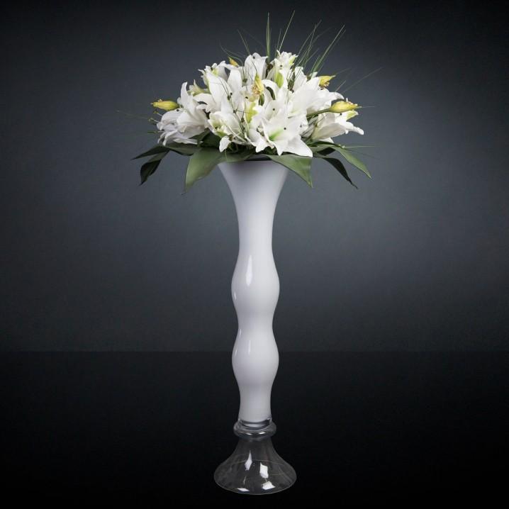 Aranjament floral mare CLEX LILIUM, H-160cm, Aranjamente florale LUX, Corpuri de iluminat, lustre, aplice, veioze, lampadare, plafoniere. Mobilier si decoratiuni, oglinzi, scaune, fotolii. Oferte speciale iluminat interior si exterior. Livram in toata tara.  a