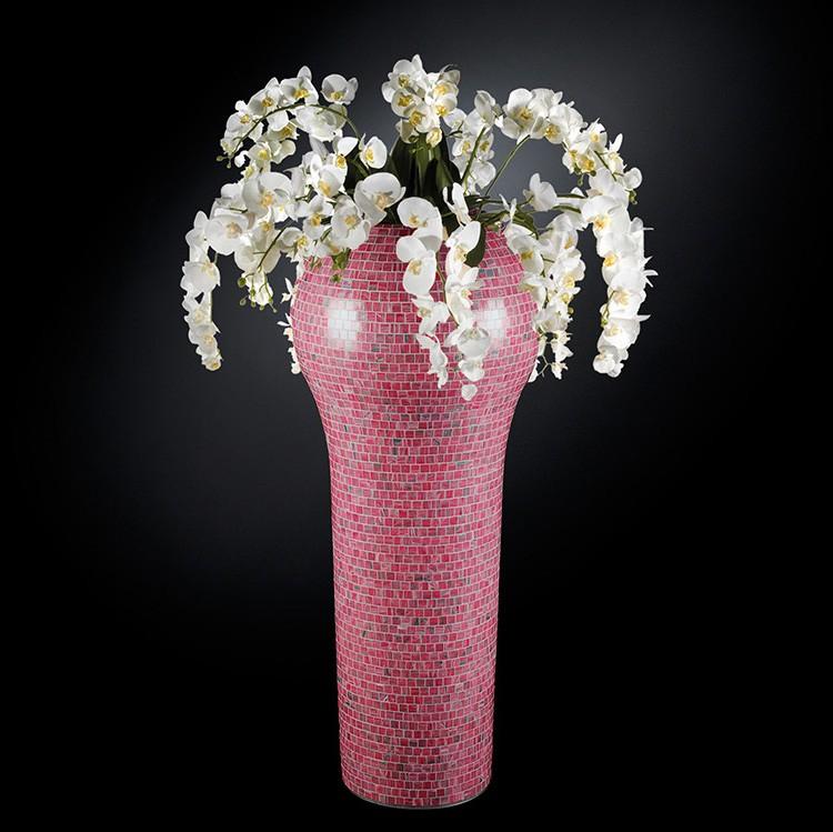 Aranjament floral mare NEW DELHI MOSAICO BISAZZA BABY PINK, 160cm, Aranjamente florale LUX, Corpuri de iluminat, lustre, aplice, veioze, lampadare, plafoniere. Mobilier si decoratiuni, oglinzi, scaune, fotolii. Oferte speciale iluminat interior si exterior. Livram in toata tara.  a