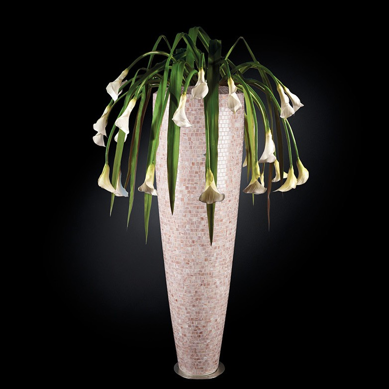 Aranjament floral PARIS MOSAICO BISAZZA, pink 210cm, Aranjamente florale LUX, Corpuri de iluminat, lustre, aplice, veioze, lampadare, plafoniere. Mobilier si decoratiuni, oglinzi, scaune, fotolii. Oferte speciale iluminat interior si exterior. Livram in toata tara.  a