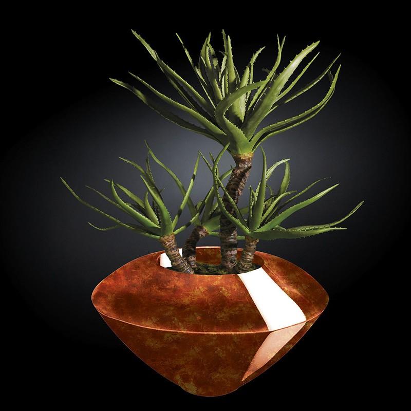 Aranjament floral CAIRO RADICA, maro 150cm, Aranjamente florale LUX, Corpuri de iluminat, lustre, aplice, veioze, lampadare, plafoniere. Mobilier si decoratiuni, oglinzi, scaune, fotolii. Oferte speciale iluminat interior si exterior. Livram in toata tara.  a