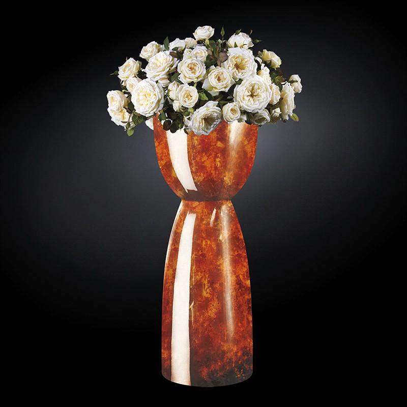Aranjament floral mare VIENNA RADICA, maro, Aranjamente florale LUX, Corpuri de iluminat, lustre, aplice, veioze, lampadare, plafoniere. Mobilier si decoratiuni, oglinzi, scaune, fotolii. Oferte speciale iluminat interior si exterior. Livram in toata tara.  a