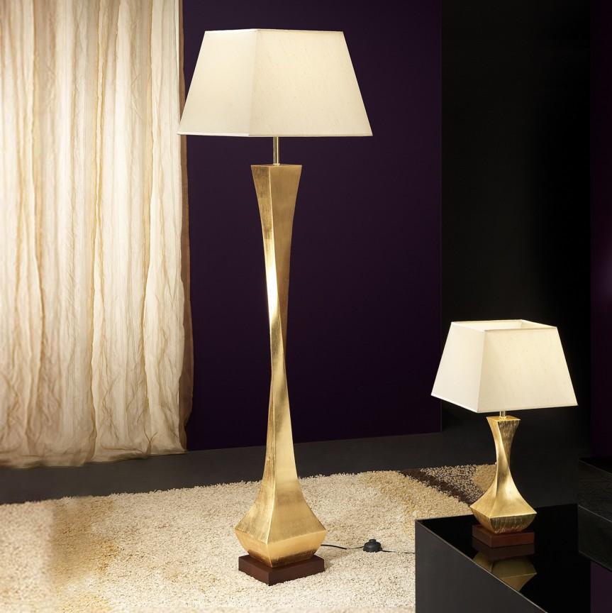 Lampadar / Lampa de podea design elegant DECO auriu SV-662514, Magazin, Corpuri de iluminat, lustre, aplice, veioze, lampadare, plafoniere. Mobilier si decoratiuni, oglinzi, scaune, fotolii. Oferte speciale iluminat interior si exterior. Livram in toata tara.  a