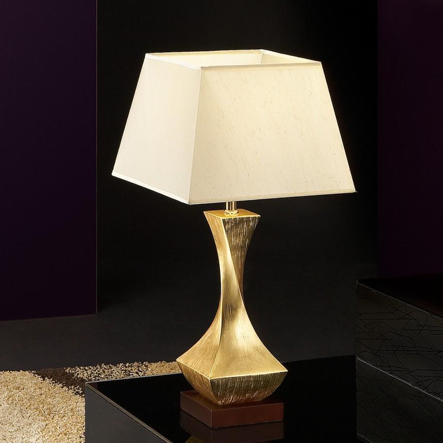 Veioza / Lampa de masa design elegant DECO auriu SV-662536, Magazin, Corpuri de iluminat, lustre, aplice, veioze, lampadare, plafoniere. Mobilier si decoratiuni, oglinzi, scaune, fotolii. Oferte speciale iluminat interior si exterior. Livram in toata tara.  a