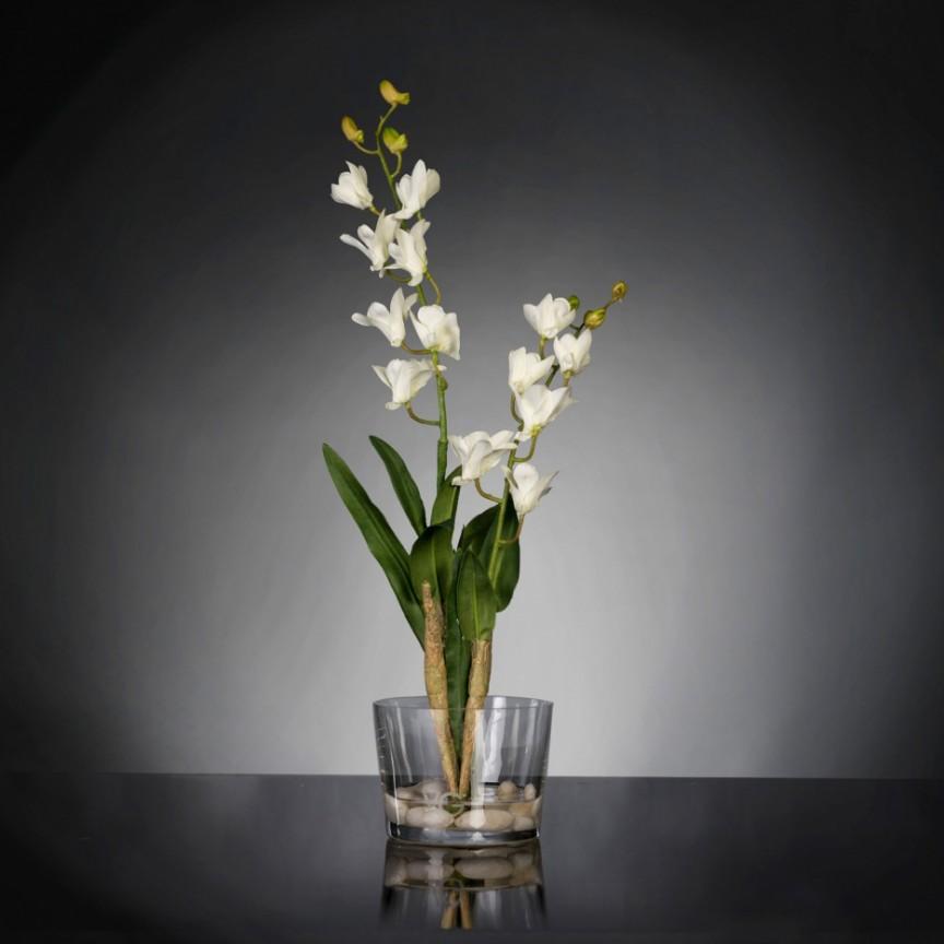 Aranjament floral elegant, design LUX ETERNITY ALFEO CYMBIDIUM, Aranjamente florale LUX, Corpuri de iluminat, lustre, aplice, veioze, lampadare, plafoniere. Mobilier si decoratiuni, oglinzi, scaune, fotolii. Oferte speciale iluminat interior si exterior. Livram in toata tara.  a