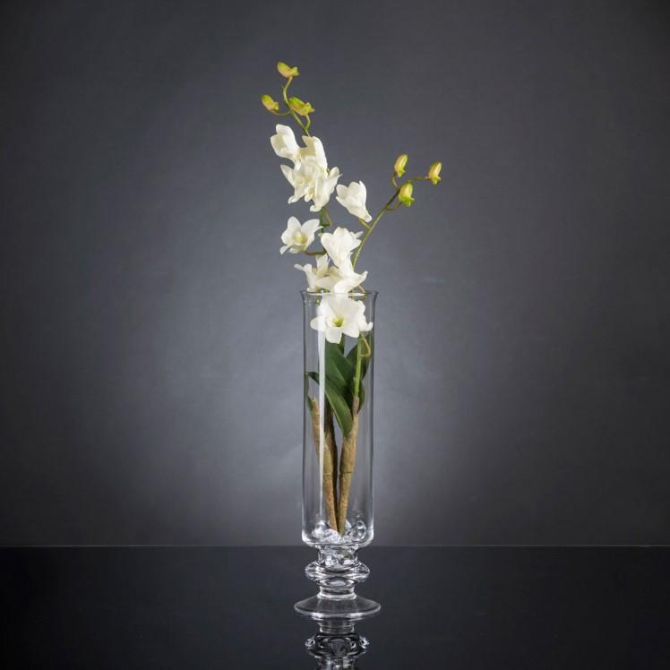 Aranjament floral elegant, design LUX ETERNITY DENDROBIUM ORCHID PLANT, Aranjamente florale LUX, Corpuri de iluminat, lustre, aplice, veioze, lampadare, plafoniere. Mobilier si decoratiuni, oglinzi, scaune, fotolii. Oferte speciale iluminat interior si exterior. Livram in toata tara.  a