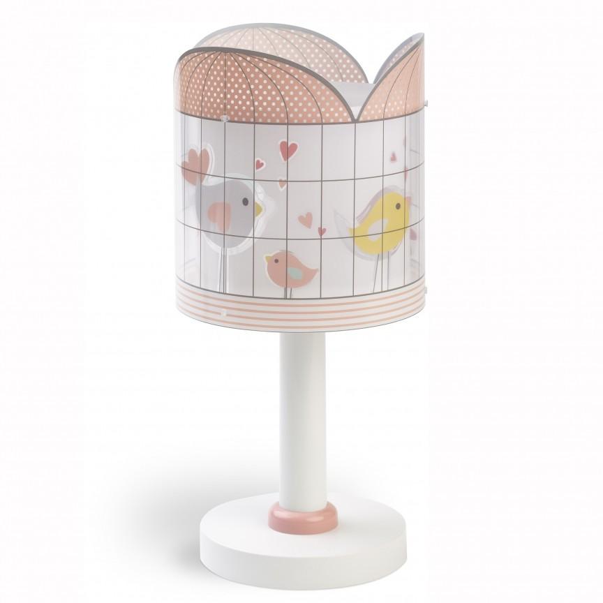 Veioza camera copii Little Birds 71281 DB, Lustre - Iluminat pentru camera Copii, Corpuri de iluminat, lustre, aplice, veioze, lampadare, plafoniere. Mobilier si decoratiuni, oglinzi, scaune, fotolii. Oferte speciale iluminat interior si exterior. Livram in toata tara.  a