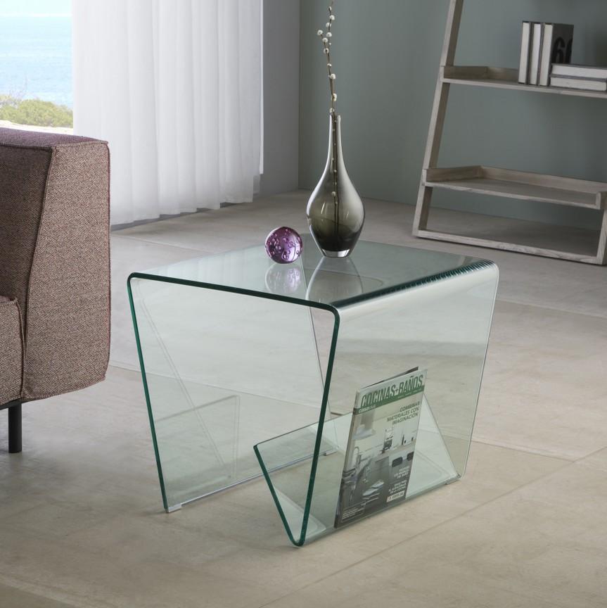 Masuta laterala sticla securizata Glass III SV-553106, Promotii si Reduceri⭐ Oferte ✅Corpuri de iluminat ✅Lustre ✅Mobila ✅Decoratiuni de interior si exterior.⭕Pret redus online➜Lichidari de stoc❗ Magazin ➽ www.evalight.ro. a