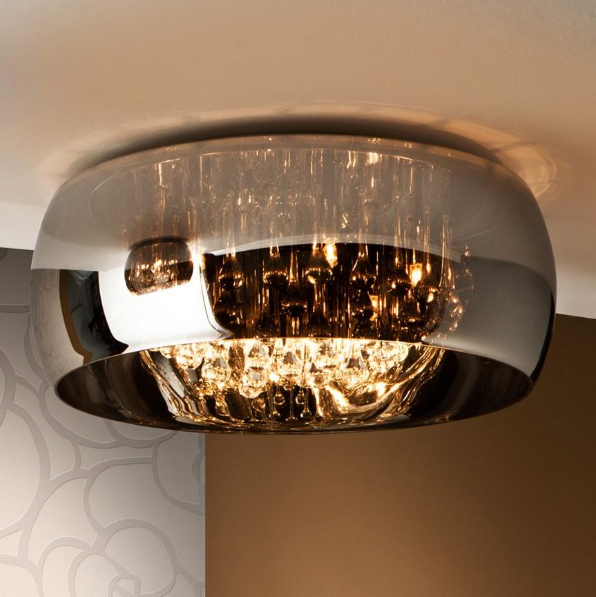 Lustra aplicata LED dimabila cu telecomanda Ø50cm ARGO SV-508030D, Lampi LED si Telecomanda, Corpuri de iluminat, lustre, aplice, veioze, lampadare, plafoniere. Mobilier si decoratiuni, oglinzi, scaune, fotolii. Oferte speciale iluminat interior si exterior. Livram in toata tara.  a