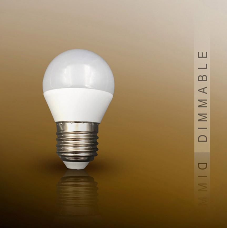 Bec LED E27 DIMABIL, 7W 3000K lumina calda Globe opal SV-50179, Becuri E27, Corpuri de iluminat, lustre, aplice, veioze, lampadare, plafoniere. Mobilier si decoratiuni, oglinzi, scaune, fotolii. Oferte speciale iluminat interior si exterior. Livram in toata tara.  a