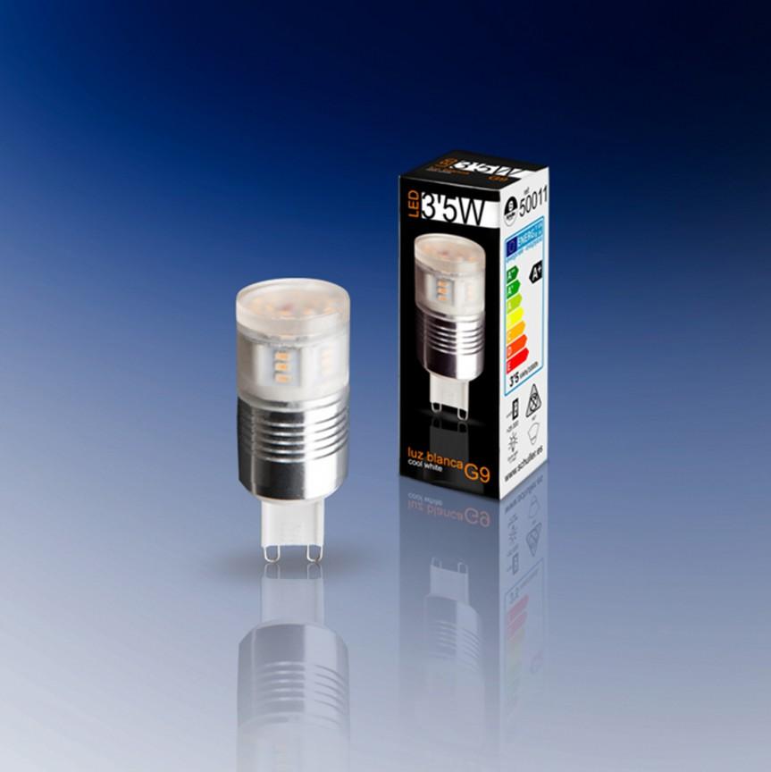 Bec LED G9, 3,5W 4000K lumina neutra SV-50011, Becuri G9, G4, R7s, Corpuri de iluminat, lustre, aplice, veioze, lampadare, plafoniere. Mobilier si decoratiuni, oglinzi, scaune, fotolii. Oferte speciale iluminat interior si exterior. Livram in toata tara.  a
