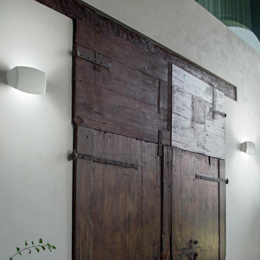 Aplica de exterior IP55, ABRAM AP1 BIG BIANCO 221915, Aplice de exterior moderne , Corpuri de iluminat, lustre, aplice, veioze, lampadare, plafoniere. Mobilier si decoratiuni, oglinzi, scaune, fotolii. Oferte speciale iluminat interior si exterior. Livram in toata tara.  a