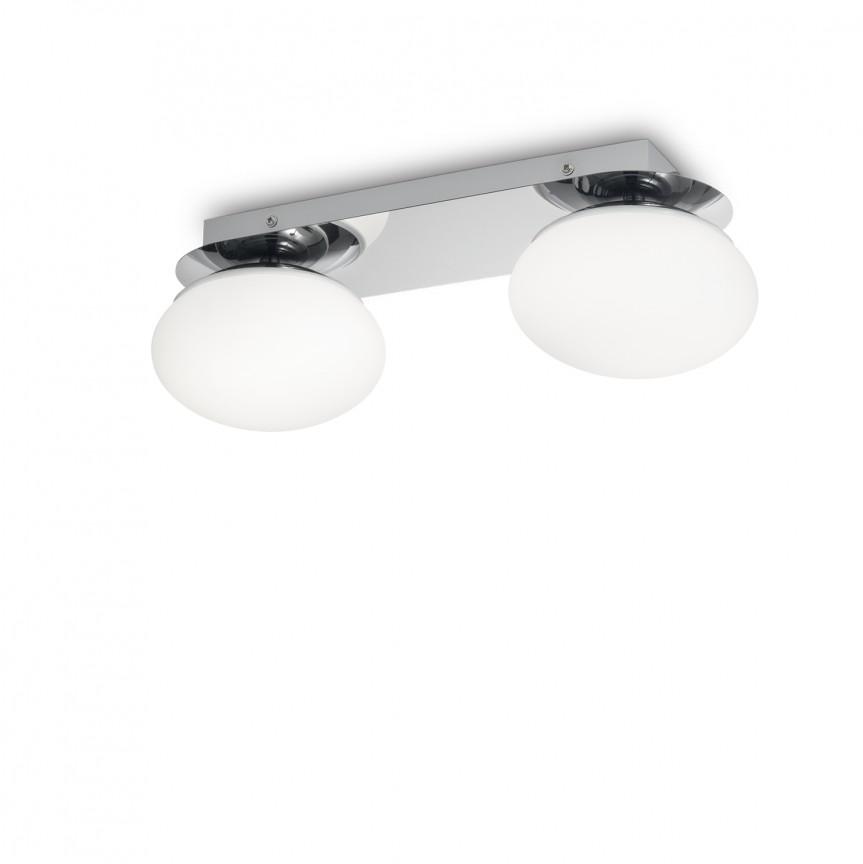 Plafoniera LED pentru baie IP44 Evolution PL2 193137, PROMOTII, Corpuri de iluminat, lustre, aplice, veioze, lampadare, plafoniere. Mobilier si decoratiuni, oglinzi, scaune, fotolii. Oferte speciale iluminat interior si exterior. Livram in toata tara.  a