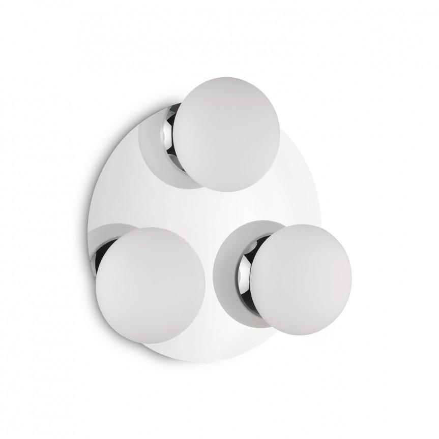 Plafoniera LED pentru baie IP44 Ø37cm Evolution PL3 193106, PROMOTII, Corpuri de iluminat, lustre, aplice, veioze, lampadare, plafoniere. Mobilier si decoratiuni, oglinzi, scaune, fotolii. Oferte speciale iluminat interior si exterior. Livram in toata tara.  a