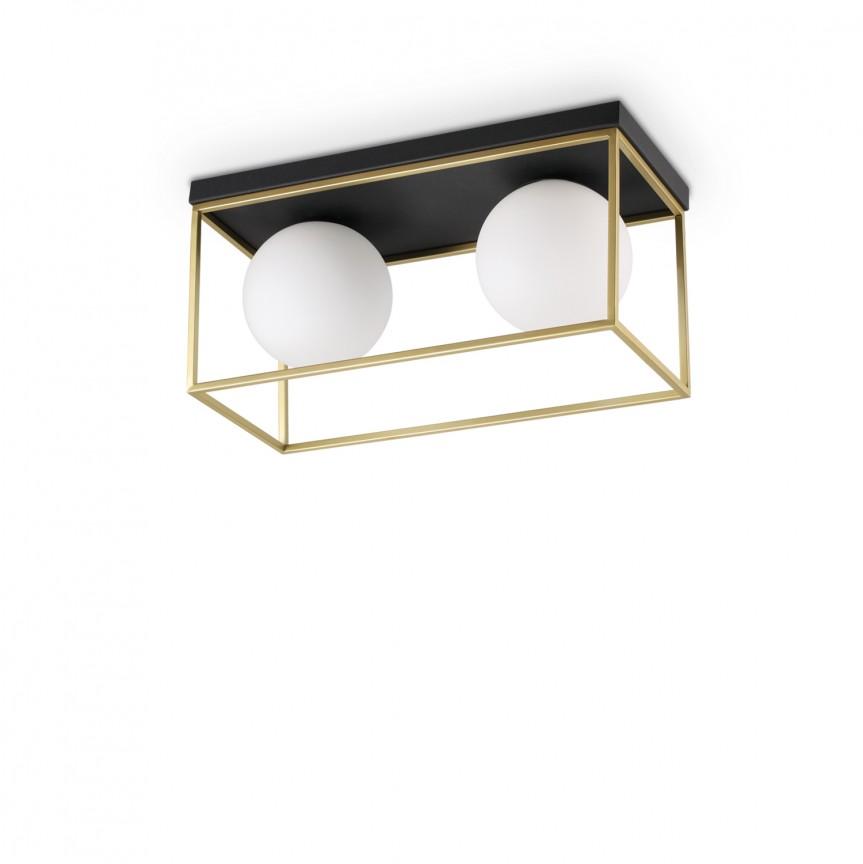 Plafoniera design modern Lingotto PL2 198149, Lustre moderne aplicate, Corpuri de iluminat, lustre, aplice, veioze, lampadare, plafoniere. Mobilier si decoratiuni, oglinzi, scaune, fotolii. Oferte speciale iluminat interior si exterior. Livram in toata tara.  a