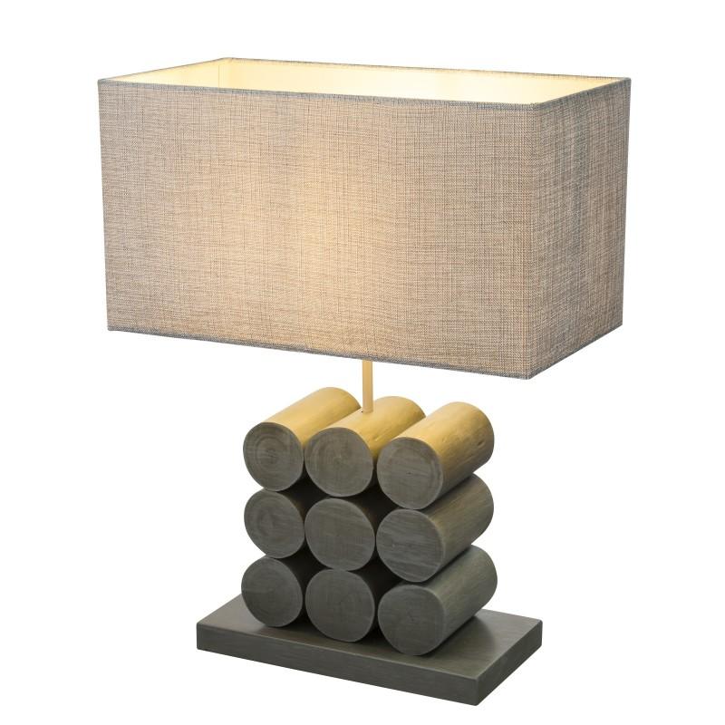 Veioza / Lampa de masa rustica design natural ARIZONA 21658 GL, Veioze, Corpuri de iluminat, lustre, aplice, veioze, lampadare, plafoniere. Mobilier si decoratiuni, oglinzi, scaune, fotolii. Oferte speciale iluminat interior si exterior. Livram in toata tara.  a