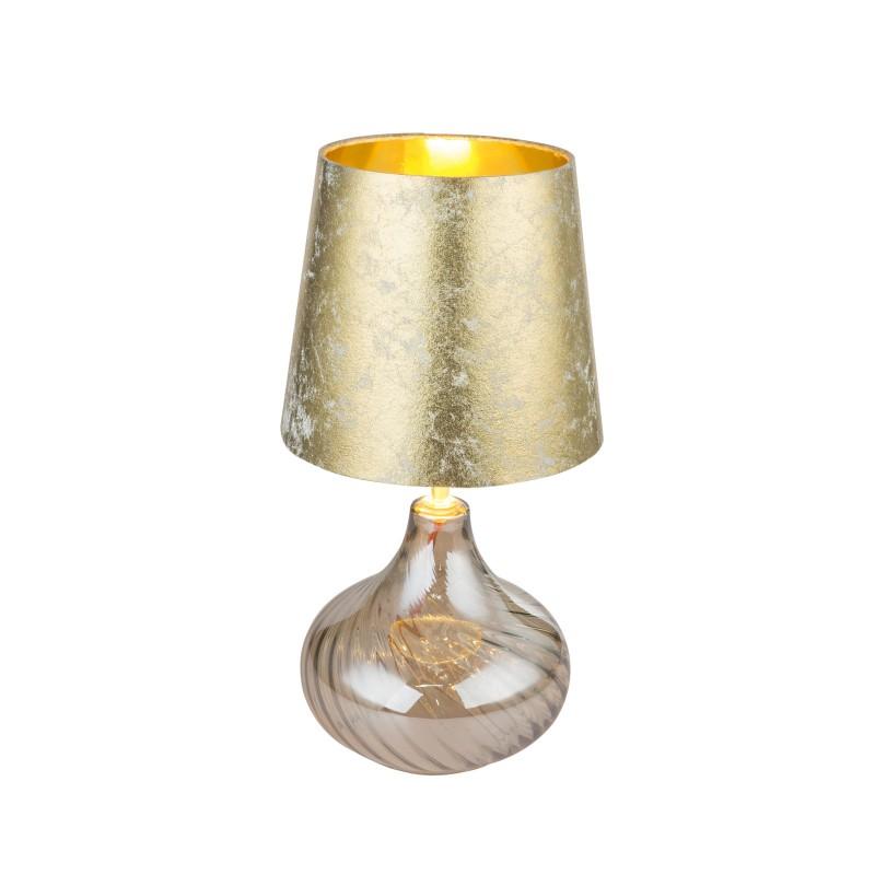 Veioza / Lampa de masa design modern JOHANNA 24000AG GL, Veioze, Lampi de masa, Corpuri de iluminat, lustre, aplice, veioze, lampadare, plafoniere. Mobilier si decoratiuni, oglinzi, scaune, fotolii. Oferte speciale iluminat interior si exterior. Livram in toata tara.  a