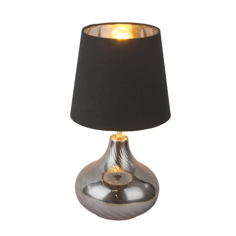 Veioza / Lampa de masa design modern JOHANNA 24000SB GL, Veioze, Lampi de masa, Corpuri de iluminat, lustre, aplice, veioze, lampadare, plafoniere. Mobilier si decoratiuni, oglinzi, scaune, fotolii. Oferte speciale iluminat interior si exterior. Livram in toata tara.  a