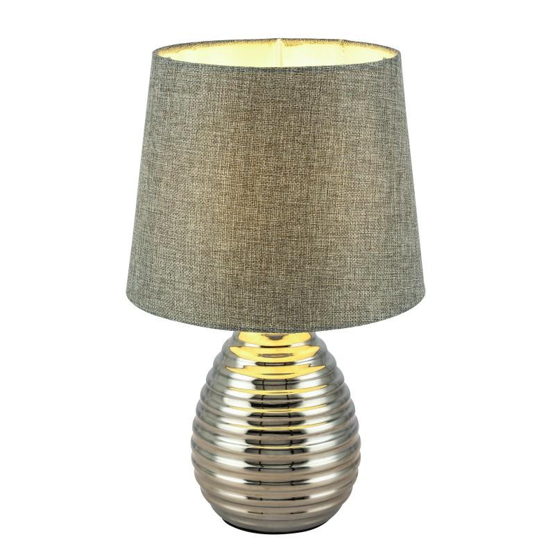 Veioza / Lampa de masa design modern TRACEY 21719 GL, Veioze, Lampi de masa, Corpuri de iluminat, lustre, aplice, veioze, lampadare, plafoniere. Mobilier si decoratiuni, oglinzi, scaune, fotolii. Oferte speciale iluminat interior si exterior. Livram in toata tara.  a