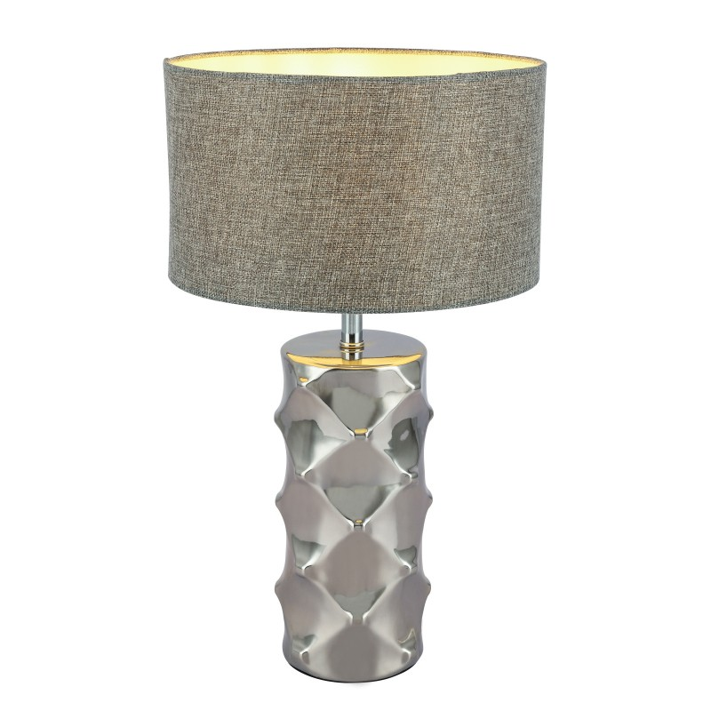 Veioza / Lampa de masa design modern H-48cm TRACEY 21717 GL, Veioze, Lampi de masa, Corpuri de iluminat, lustre, aplice, veioze, lampadare, plafoniere. Mobilier si decoratiuni, oglinzi, scaune, fotolii. Oferte speciale iluminat interior si exterior. Livram in toata tara.  a