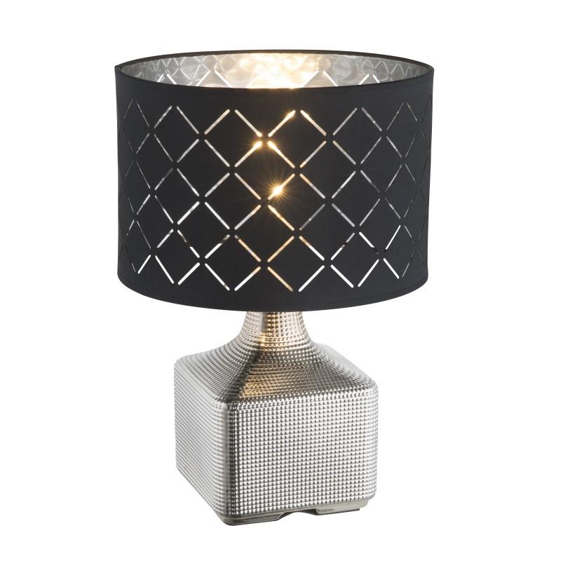 Veioza / Lampa de masa design modern MIRAUEA 21613 GL, Veioze, Lampi de masa, Corpuri de iluminat, lustre, aplice, veioze, lampadare, plafoniere. Mobilier si decoratiuni, oglinzi, scaune, fotolii. Oferte speciale iluminat interior si exterior. Livram in toata tara.  a