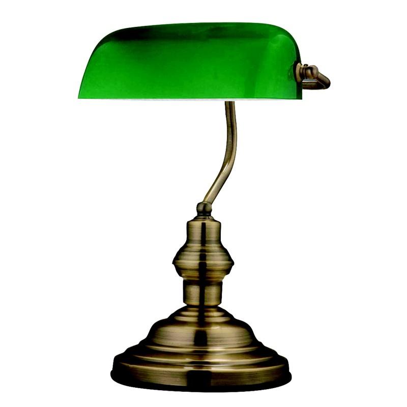 Veioza / Lampa de masa ANTIQUE 24934 GL, Veioze, Corpuri de iluminat, lustre, aplice, veioze, lampadare, plafoniere. Mobilier si decoratiuni, oglinzi, scaune, fotolii. Oferte speciale iluminat interior si exterior. Livram in toata tara.  a