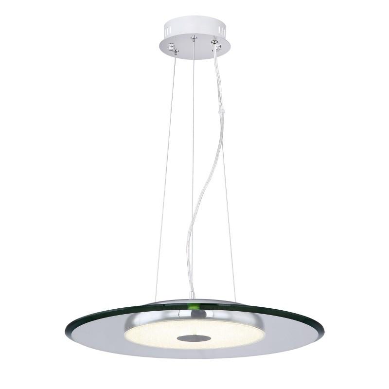 Lustra LED design modern Ø45cm NURI 15089 GL, Lustre LED, Pendule LED, Corpuri de iluminat, lustre, aplice, veioze, lampadare, plafoniere. Mobilier si decoratiuni, oglinzi, scaune, fotolii. Oferte speciale iluminat interior si exterior. Livram in toata tara.  a