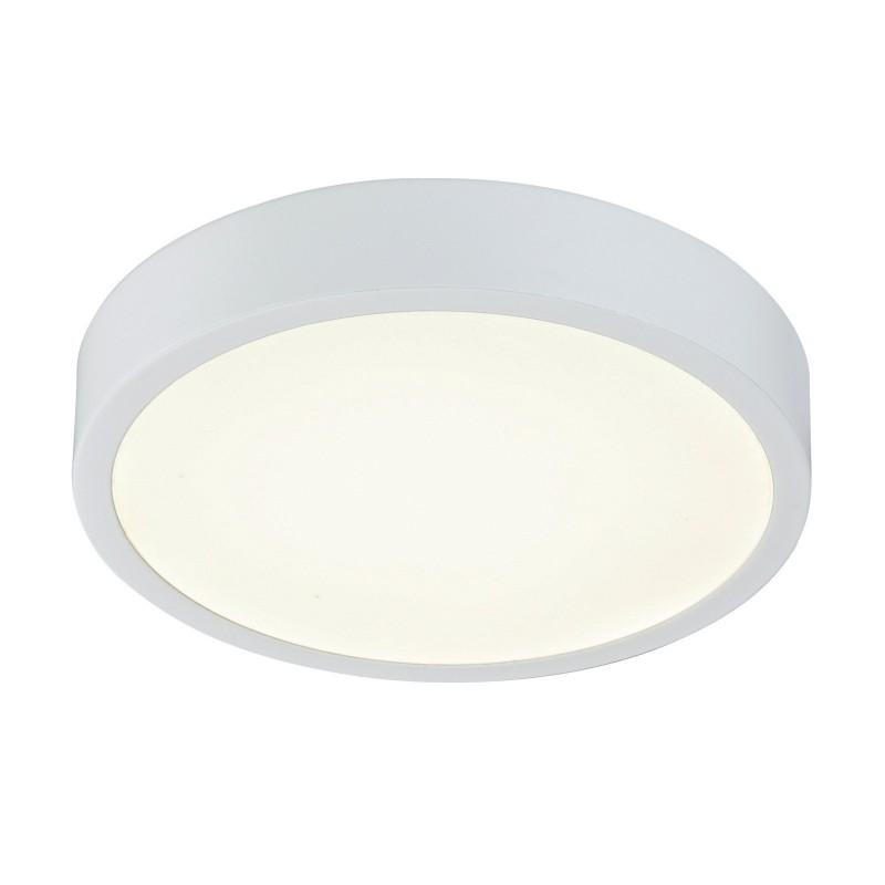 Plafoniera LED dimabila design slim IP44 ARCHIMEDES 12364-15 GL, Plafoniere cu protectie pentru baie, Corpuri de iluminat, lustre, aplice, veioze, lampadare, plafoniere. Mobilier si decoratiuni, oglinzi, scaune, fotolii. Oferte speciale iluminat interior si exterior. Livram in toata tara.  a