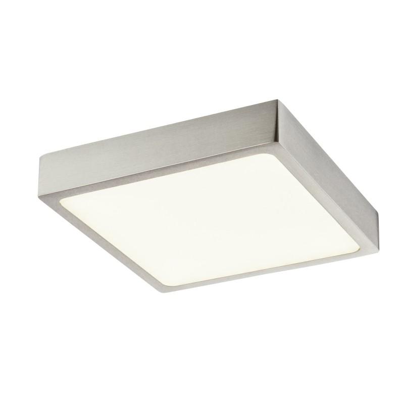 Plafoniera LED dimabila design slim IP44 VITOS 12367-15 GL, Plafoniere de exterior, Corpuri de iluminat, lustre, aplice, veioze, lampadare, plafoniere. Mobilier si decoratiuni, oglinzi, scaune, fotolii. Oferte speciale iluminat interior si exterior. Livram in toata tara.  a