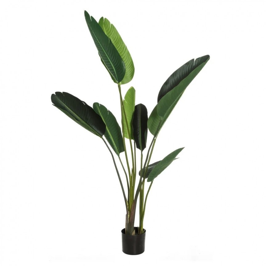 Planta artificiala decorativa Paradisul Verde, H-150cm DZ-107411, Vaze, Ghivece decorative,  a