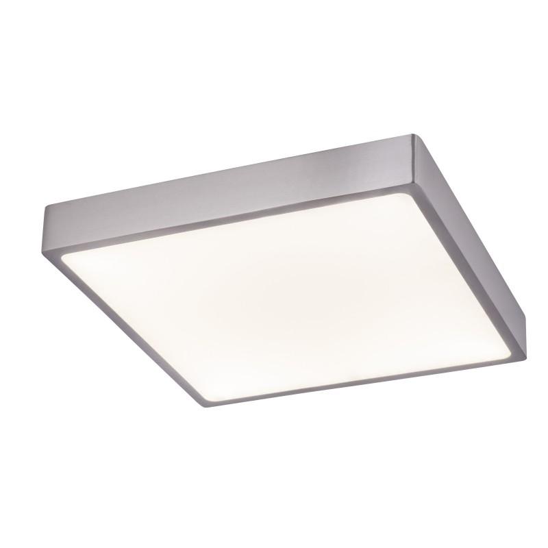 Plafoniera LED dimabila design slim IP44 VITOS 12367-30 GL, Plafoniere de exterior, Corpuri de iluminat, lustre, aplice, veioze, lampadare, plafoniere. Mobilier si decoratiuni, oglinzi, scaune, fotolii. Oferte speciale iluminat interior si exterior. Livram in toata tara.  a