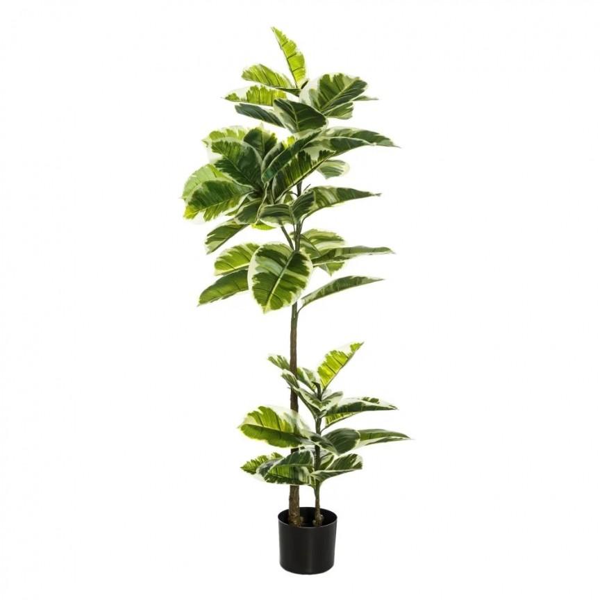 Planta artificiala decorativa Stejar Verde, H-132cm DZ-107402, Vaze, Ghivece decorative,  a