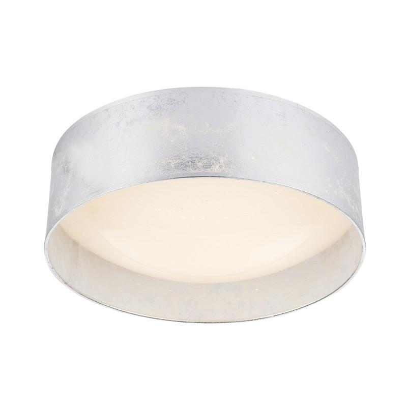 Plafoniera LED design modern Ø40cm Amy argintie 15188D7 GL, Plafoniere LED, Spoturi LED, Corpuri de iluminat, lustre, aplice, veioze, lampadare, plafoniere. Mobilier si decoratiuni, oglinzi, scaune, fotolii. Oferte speciale iluminat interior si exterior. Livram in toata tara.  a