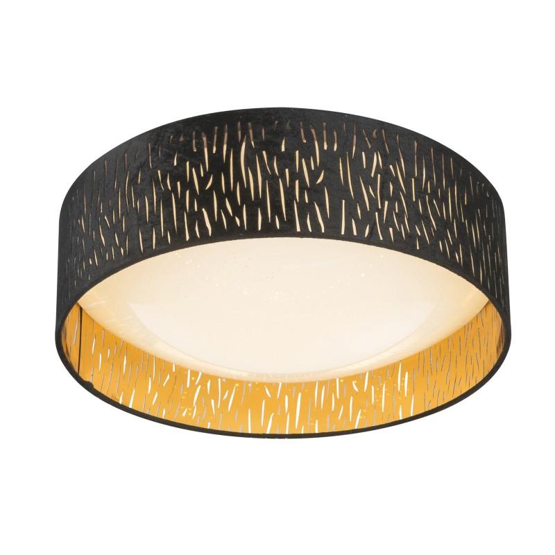 Plafoniera LED design modern Ø40cm Tuxon 15264D7 GL, Plafoniere LED, Spoturi LED, Corpuri de iluminat, lustre, aplice, veioze, lampadare, plafoniere. Mobilier si decoratiuni, oglinzi, scaune, fotolii. Oferte speciale iluminat interior si exterior. Livram in toata tara.  a
