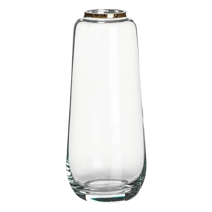 Vas decorativ, Vaza eleganta din sticla SX-108575, Vaze, Ghivece decorative, Corpuri de iluminat, lustre, aplice, veioze, lampadare, plafoniere. Mobilier si decoratiuni, oglinzi, scaune, fotolii. Oferte speciale iluminat interior si exterior. Livram in toata tara.  a