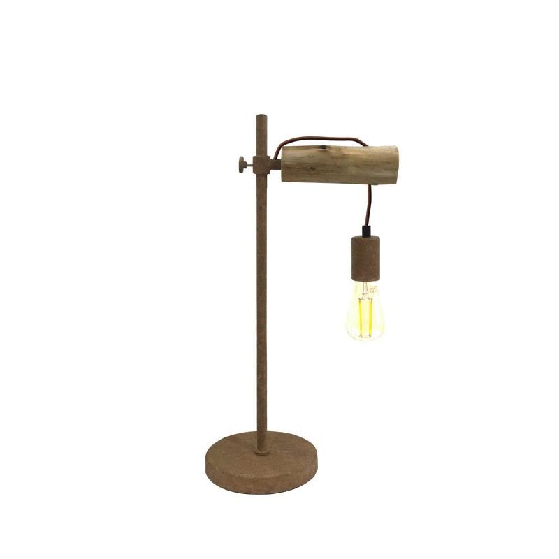 Veioza / Lampa de masa design minimalist JAKOB 15327TN GL, Veioze, Lampi de masa, Corpuri de iluminat, lustre, aplice, veioze, lampadare, plafoniere. Mobilier si decoratiuni, oglinzi, scaune, fotolii. Oferte speciale iluminat interior si exterior. Livram in toata tara.  a