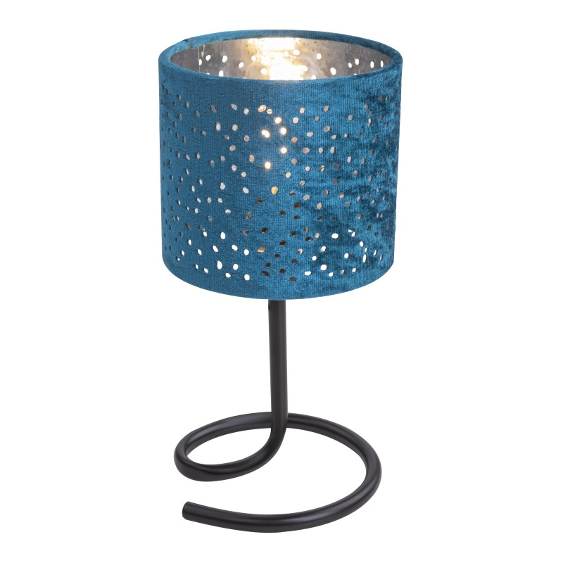 Veioza catifea verde mint NORRO 24001BC GL, Veioze, Lampi de masa, Corpuri de iluminat, lustre, aplice, veioze, lampadare, plafoniere. Mobilier si decoratiuni, oglinzi, scaune, fotolii. Oferte speciale iluminat interior si exterior. Livram in toata tara.  a
