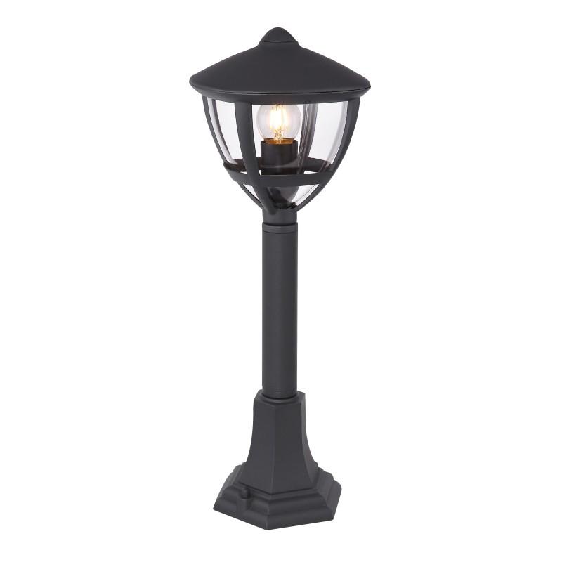 Stalp iluminat exterior H-50cm NOLLO 31997 GL, Stalpi de iluminat exterior mici si medii , Corpuri de iluminat, lustre, aplice, veioze, lampadare, plafoniere. Mobilier si decoratiuni, oglinzi, scaune, fotolii. Oferte speciale iluminat interior si exterior. Livram in toata tara.  a