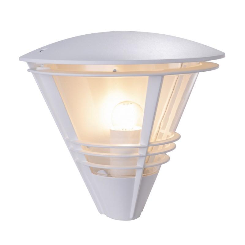 Aplica de exterior cu protectie IP44 SALLA alba 32093W GL, ILUMINAT EXTERIOR, Corpuri de iluminat, lustre, aplice, veioze, lampadare, plafoniere. Mobilier si decoratiuni, oglinzi, scaune, fotolii. Oferte speciale iluminat interior si exterior. Livram in toata tara.  a