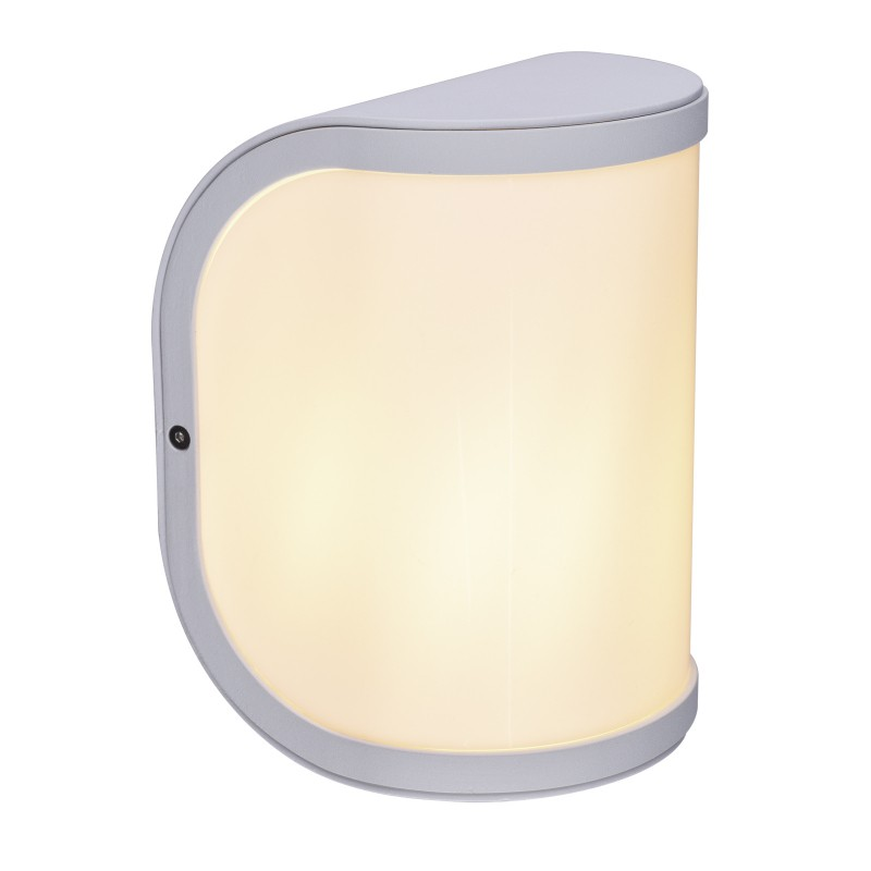 Aplica de exterior moderna cu IP44 SEGGA alba 32128W GL, ILUMINAT EXTERIOR, Corpuri de iluminat, lustre, aplice, veioze, lampadare, plafoniere. Mobilier si decoratiuni, oglinzi, scaune, fotolii. Oferte speciale iluminat interior si exterior. Livram in toata tara.  a
