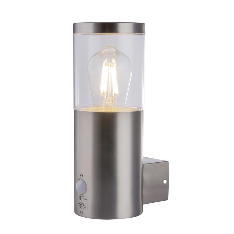 Aplica de exterior cu senzor de miscare IP44 LALLI 34019S GL, Iluminat cu senzor de miscare, Corpuri de iluminat, lustre, aplice, veioze, lampadare, plafoniere. Mobilier si decoratiuni, oglinzi, scaune, fotolii. Oferte speciale iluminat interior si exterior. Livram in toata tara.  a
