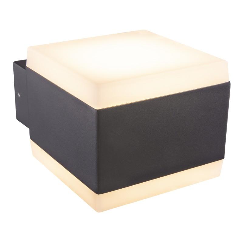 Aplica LED de exterior moderna cu IP44 SLICE 34173 GL, ILUMINAT EXTERIOR, Corpuri de iluminat, lustre, aplice, veioze, lampadare, plafoniere. Mobilier si decoratiuni, oglinzi, scaune, fotolii. Oferte speciale iluminat interior si exterior. Livram in toata tara.  a