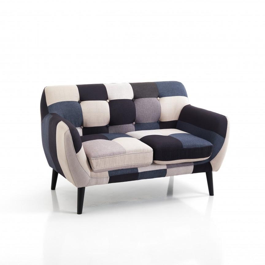 Canapea 2 locuri, fixa, design modern GIALOS 3365 FTP, Mobila si Decoratiuni, Corpuri de iluminat, lustre, aplice, veioze, lampadare, plafoniere. Mobilier si decoratiuni, oglinzi, scaune, fotolii. Oferte speciale iluminat interior si exterior. Livram in toata tara.  a