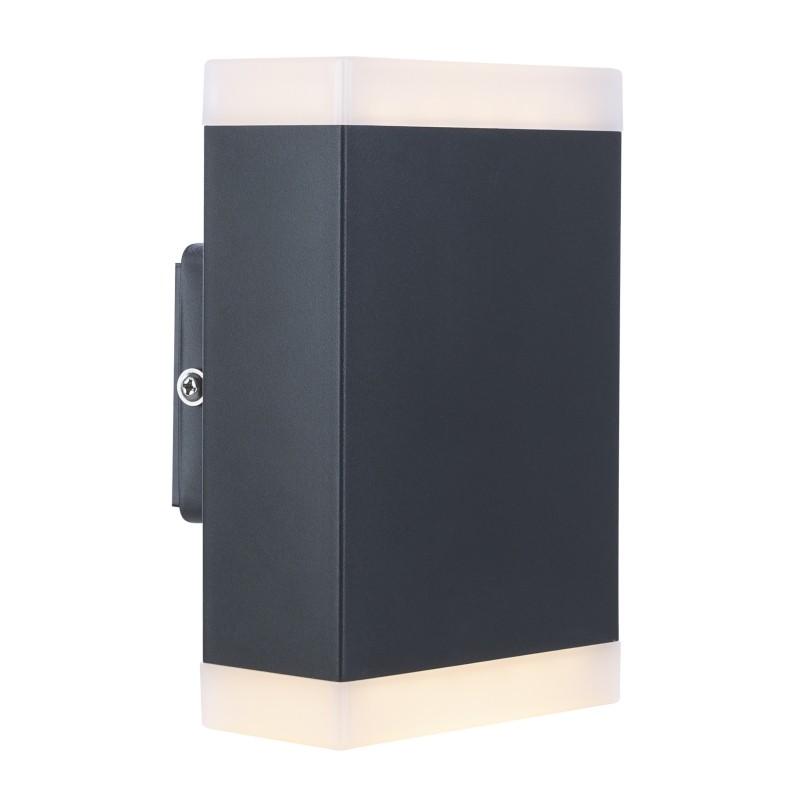 Aplica LED de exterior moderna cu IP44 OSKARI 34186-2 GL, ILUMINAT EXTERIOR, Corpuri de iluminat, lustre, aplice, veioze, lampadare, plafoniere. Mobilier si decoratiuni, oglinzi, scaune, fotolii. Oferte speciale iluminat interior si exterior. Livram in toata tara.  a