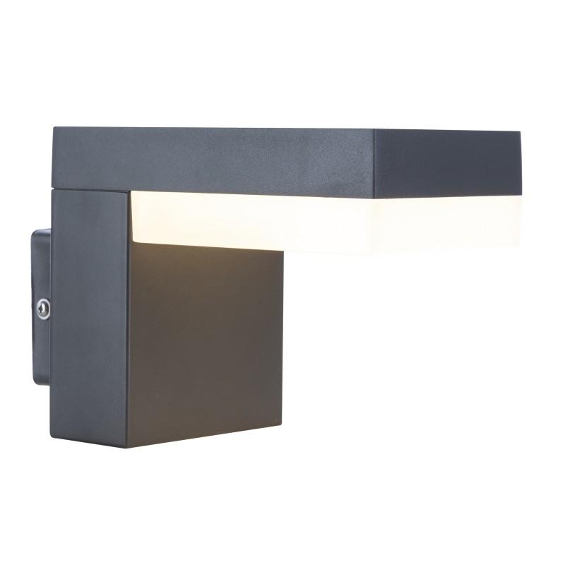 Aplica LED de exterior moderna cu IP44 OSKARI 34186W GL, ILUMINAT EXTERIOR, Corpuri de iluminat, lustre, aplice, veioze, lampadare, plafoniere. Mobilier si decoratiuni, oglinzi, scaune, fotolii. Oferte speciale iluminat interior si exterior. Livram in toata tara.  a