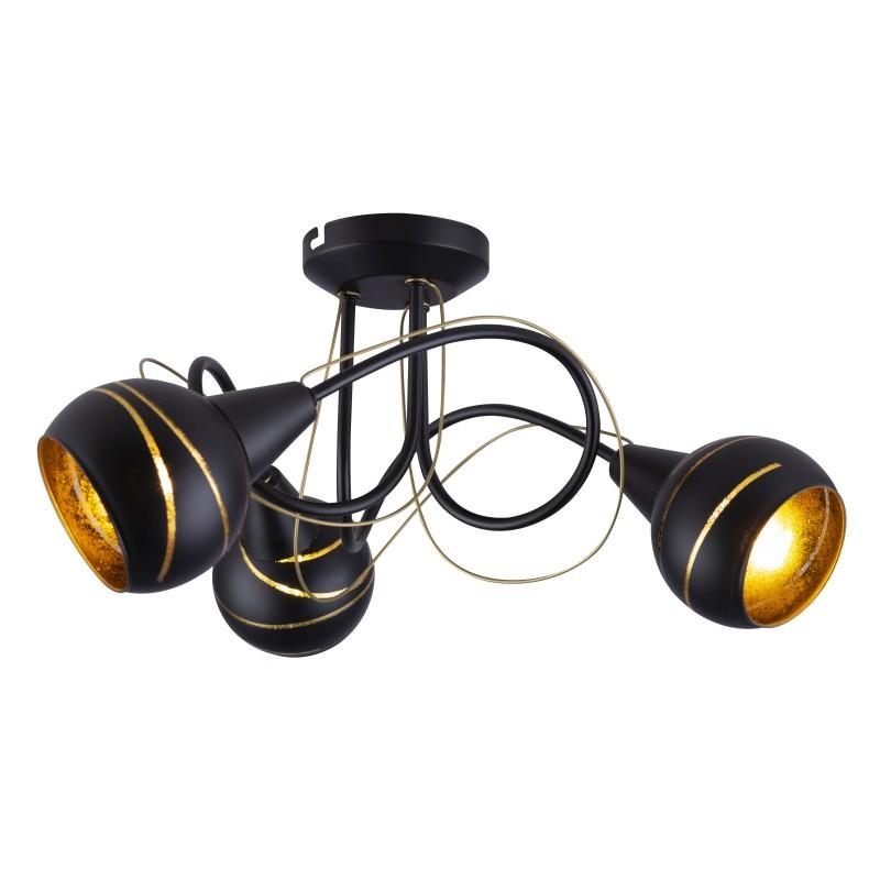Lustra moderna aplicata LOMMY 3L 54005-3D GL, Lustre moderne aplicate, Corpuri de iluminat, lustre, aplice, veioze, lampadare, plafoniere. Mobilier si decoratiuni, oglinzi, scaune, fotolii. Oferte speciale iluminat interior si exterior. Livram in toata tara.  a